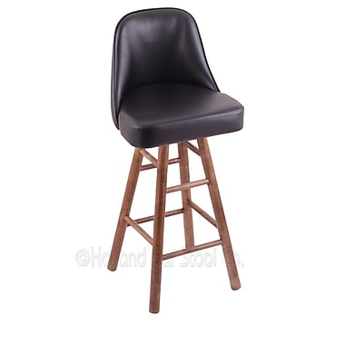 Holland Bar Stool Grizzly 24'' Swivel Bar Stool; Medium Maple