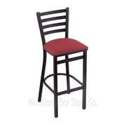 Holland Bar Stool Jackie 25'' Bar Stool; Allante Wine
