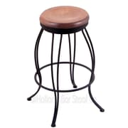 Holland Bar Stool Georgian 25'' Swivel Bar Stool; Medium Maple