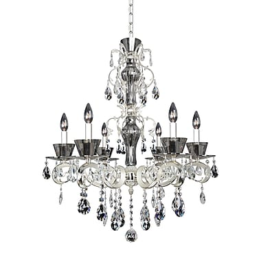Allegri Locatelli 6-Light Crystal Chandelier; Firenze Clear