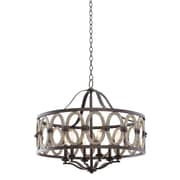 Kalco Belmont 6-Light Drum Chandelier