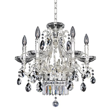 Allegri Rossi 6-Light Crystal Chandelier; Firenze Clear