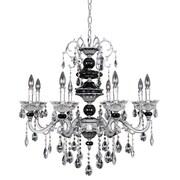 Allegri Faure 8-Light Crystal Chandelier; Swarovski Elements Clear