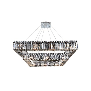 Allegri Quadro 28-Light Crystal Pendant