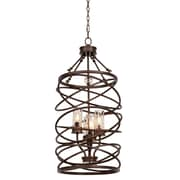 Kalco Eternity 4-Light Foyer Pendant