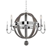 Kalco Sharlow 5-Light Candle-Style Chandelier