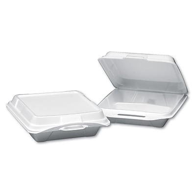 GENPAKFoam Hinged Carryout Container