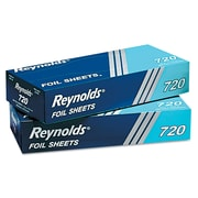 Reynolds® Wrap 720 Pop-Up Interfolded Aluminum Foil Sheets, 12 x 10 3/4, Silver, 200 Sheets/Box, 12 Boxes/Carton