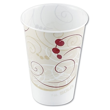 SOLO CUP COMPANY Waxed Paper Cold Cups, 7 Oz.