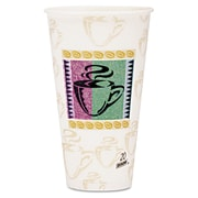 Dixie® PerfecTouch Hot Cups; 20 oz., 500/Carton