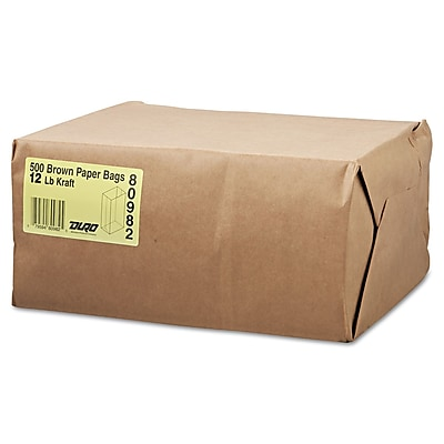 S & G PACKAGING General Paper Bag, Brown