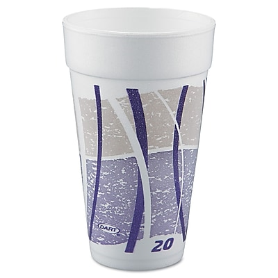 DART CONTAINER CORP Impulse Foam Drinking Cups 1524570