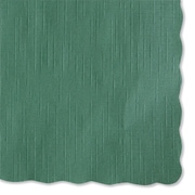 """HOFFMASTER Solid Color Placemats 9.5"""" x 13.5"""""""
