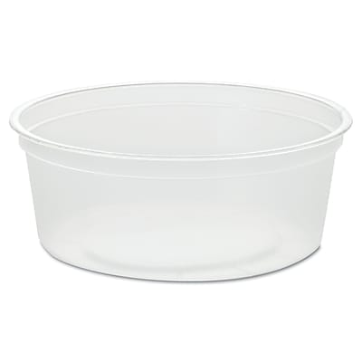 WNA AMERICAN PLASTIC Containers & Lids, 8 Oz