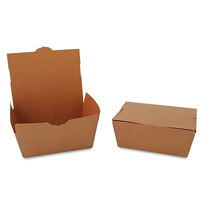SOUTHERN CHAMPION Tuck-top Carryout Boxes, 3.5