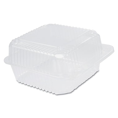 DART CONTAINER CORP Clear Hinged Container