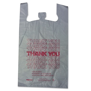 BARNES PAPER CO. High Density Shopping Bags, 30