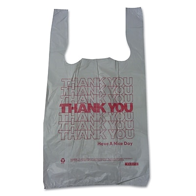 BARNES PAPER CO. High Density Shopping Bags, 15