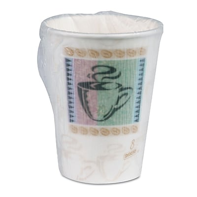 DIXIE/FORT JAMES Insulated Paper Hot Cup