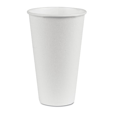 DIXIE/FORT JAMES Hot Paper Cups, 16 oz.