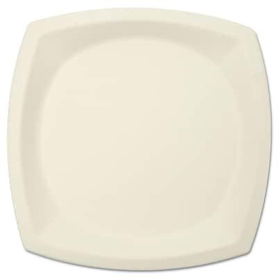 """""""""""SOLO CUP COMPANY Plate Bare Sugar- Cane Dinnerware, 10"""""""""""""""""""""""""""" 1524375"""