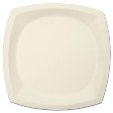 SOLO CUP COMPANY Plate Bare Sugar- Cane Dinnerware, 10