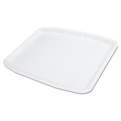 GENPAK MEATTRAYS SEBRING Supermarket Foam White Tray