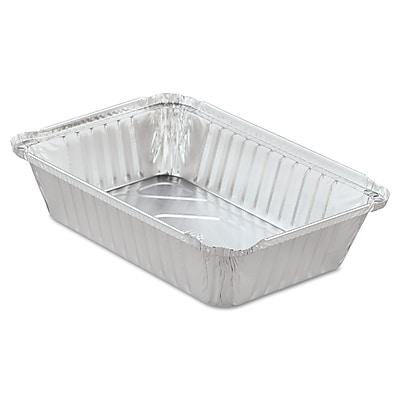 HANDI-FOIL OF AMERICA Aluminum Oblong Pan with Lid 36 Oz.