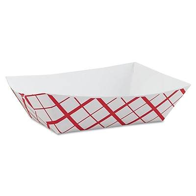 SOUTHERN CHAMPION Tray Paperboard Food Baskets, 3 lb.