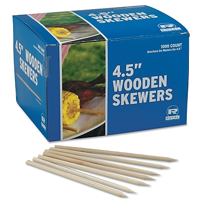 ROYAL PAPER PRODUCTS Wooden Skewers