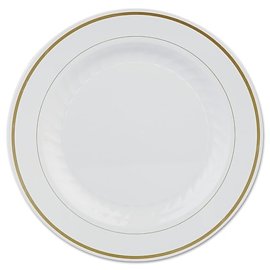 WNA AMERICAN PLS MASS WH Masterpiece Plates, 10.25