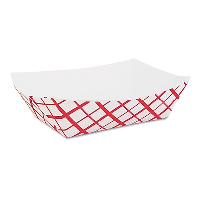SOUTHERN CHAMPION Tray Paperboard Food Baskets, 2 lb.