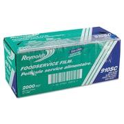 "Reynolds ® Foodservice Plastic Film with Slide Cutter 910SC, 12""(W) x 2000'(L)"