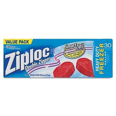 DRACKETT PROFESSIONAL Ziploc Double Zipper Freezer Bags