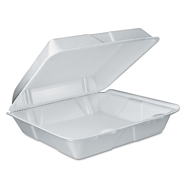 DART CONTAINER CORP Foam Vented Hinged Lid Containers