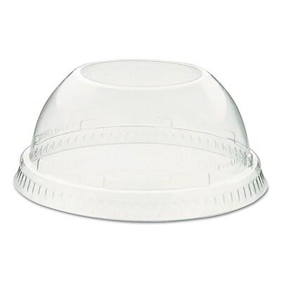 Dart® Conex D-T Sundae Lids, 16-24oz Cups, Clear, 50/sleeve, 20 Sleeves/carton