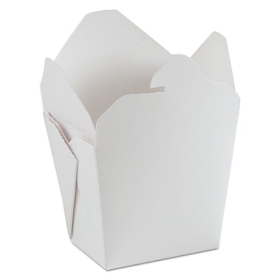GOLDEN WEST PAPER Microwavable Food Box 16 Oz.