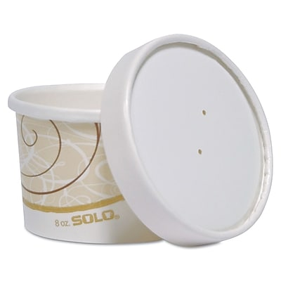 SOLO CUP COMPANY Food Containers, 8 Oz