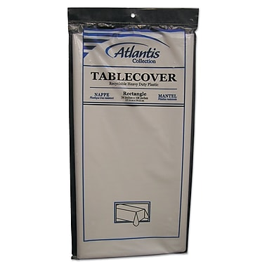 ATLANTIS PLASTICS Table Cover Rectangular