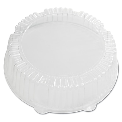 WNA AMERICAN PLS MASS WH Caterline Dome Lids, 12