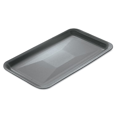 GENPAK MEATTRAYS SEBRING Genpak Supermarket Trays, Black