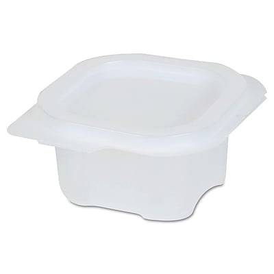 DIXIE/FORT JAMES Portion Cup with Attached Lid, 4 Oz.