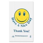 BARNES PAPER CO. Smiley Face Shopping Bags