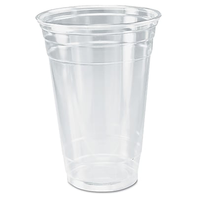 DART CONTAINER CORP Ultra Clear Cold Cups, 20 Oz.