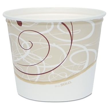SOLO CUP COMPANY Double Wrapped Paper Bucket