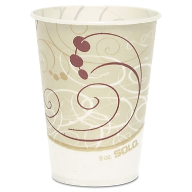 SOLO CUP COMPANY Waxed Paper Cold Cups, 9 Oz.