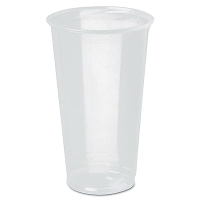 SOLO CUP COMPANY Clear Cold Cups 1524437
