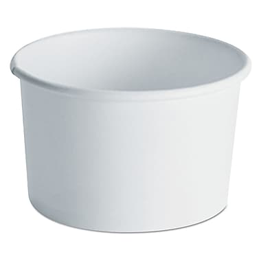 HUHTAMAKI FOODSERVICE Paper Container with Vented Lid for Food 8 - 10 Oz.