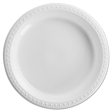 HUHTAMAKI FOODSERVICE Plastic Round Plate 10.25
