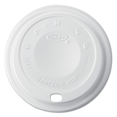 DART CONTAINER CORP Cappuccino Dome Sipper Lids